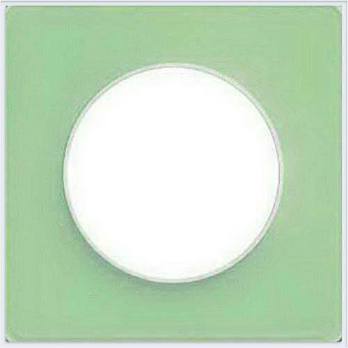 Рамка 1-я Зеленый лед Schneider-Electric Коллекция Odace арт. S52P802S