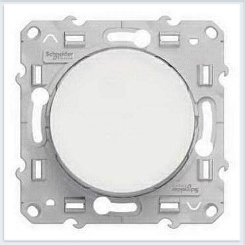 Выключатель кнопочный Белый Schneider-Electric Коллекция Odace арт. S52R206