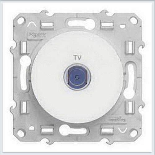 Розетка ТВ Белый Schneider-Electric Коллекция Odace арт. S52R445