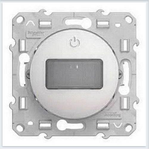 Датчик движения 10А 3-проводн Белый Schneider-Electric Коллекция Odace арт. S52R525