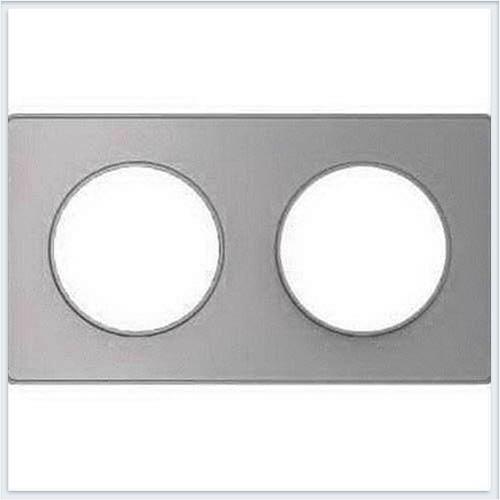 Рамка 2-я Алюминий Schneider-Electric Коллекция Odace арт. S53P804