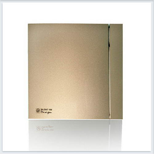 Soler Palau Вентилятор накладной SILENT-100 CRZ CHAMPAGNE DESIGN-4C