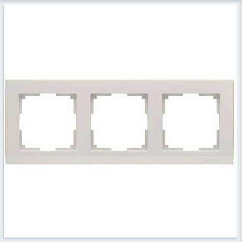 Рамка на 3 поста слоновая кость Werkel (Веркель) Коллекция Stark - WL04-Frame-03