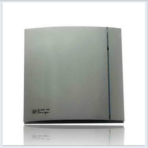 Soler Palau Тихий накладной вентилятор SILENT-100 CHZ SILVER DESIGN Вентилятор
