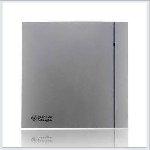 Soler Palau Тихий накладной вентилятор SILENT-200 CHZ SILVER DESIGN-3C Вентилятор