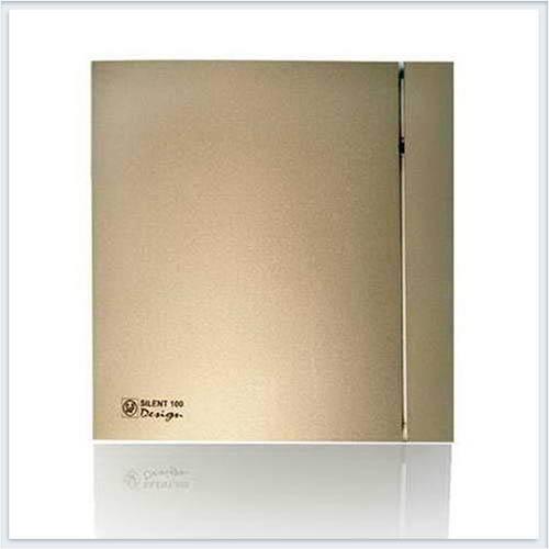 Soler Palau Тихий накладной вентилятор SILENT-100 CZ CHAMPAGNE DESIGN-4C Вентилятор