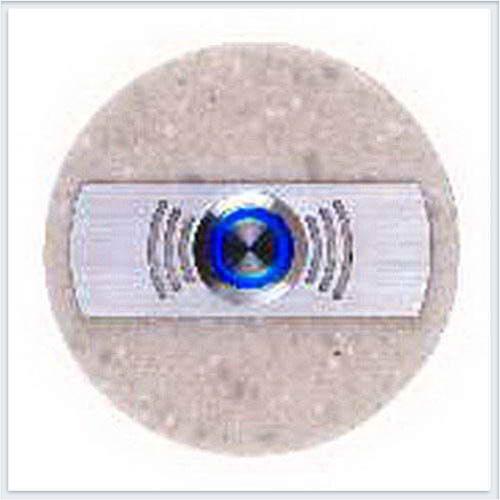 Кнопка звонка декоративная круглая Zamel (Замель) - PDK 251(темный)