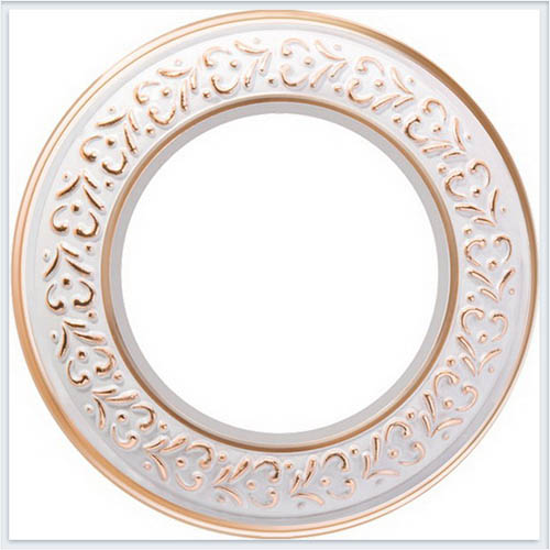 Werkel Ретро Рамка 1 на пост белое золото