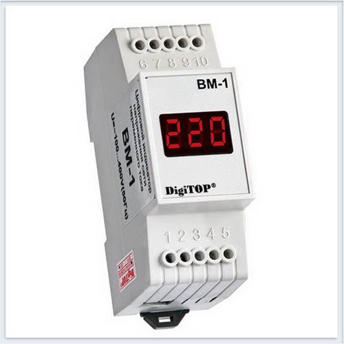 Вольтметр переменного тока, Вм-1, Измерительные приборы, Амперметры и вольтметры DigiTOP