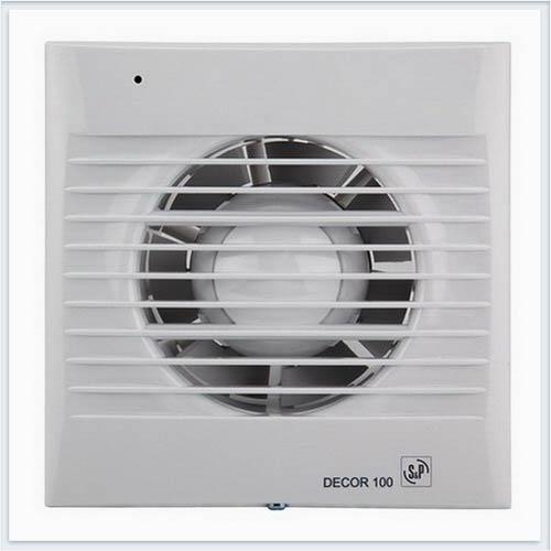 Decor 100C вентилятор вытяжной для ванной Soler Palau