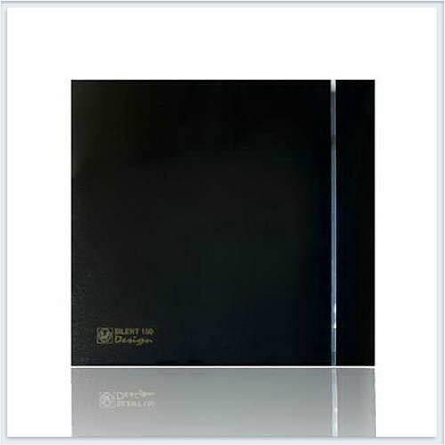 Soler Palau Тихий накладной вентилятор SILENT-200 CZ BLACK DESIGN-4C Вентилятор