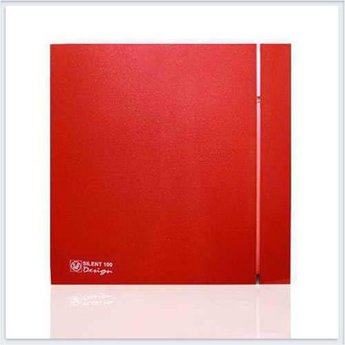 Soler Palau Тихий накладной вентилятор SILENT-200 CZ RED DESIGN-4C Вентилятор
