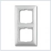 Рамка 2-ая белая ABB Basic 55 1725-0-1480
