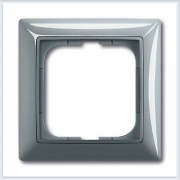 Бистро — голубой Рамка 1-ая ABB Basic 55 1725-0-1521