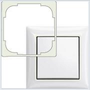 Вставка декоративная белая в рамку ABB Basic 55 1726-0-0218