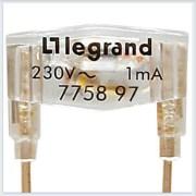 Мех Лампа подсветки запасная зеленая 230B 0.5mA Legrand Galea Life  775897