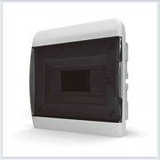 Щит встраиваемый 8 модулей прозрачная дверь Tekfor - BVK 40-08-1