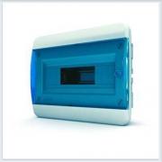 Щит встраиваемый 12 модулей синяя дверь Tekfor - BVS 40-12-1