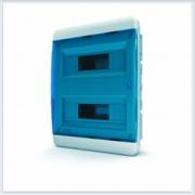 Щит встраиваемый 24 модулей синяя дверь Tekfor - BVS 40-24-1