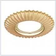 Точечный Светильник для натяжных - подвесных и реечных потолков Gauss Metal Exclusive Круглый Золото - CA063