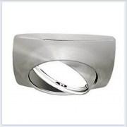 Точечный Светильник для натяжных - подвесных и реечных потолков Gauss Metal Exclusive Круглый Титан - CA068