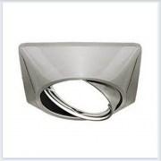 Точечный Светильник для натяжных - подвесных и реечных потолков Gauss Metal Exclusive Круглый Титан - CA072