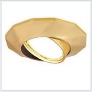 Точечный Светильник для натяжных - подвесных и реечных потолков Gauss Metal Exclusive Круглый Золото - CA077
