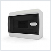 Щит навесной 8 модулей прозрачная дверь Tekfor - CNK 40-08-1