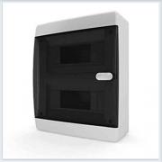 Щит навесной 18 модулей прозрачная дверь Tekfor - CNK 40-18-1