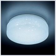 Светодиодный светильник  Orbital F471 W белая перфорация 6W 6400K D 110 mm H 55 mm A 75 mm