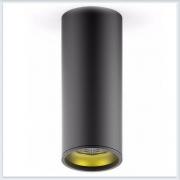 Светильник накладной HD009 12W черный золото