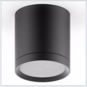 Светильник накладной с рассеивателем HD014 6W черный
