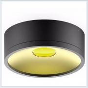 Светильник накладной HD026 12W черный/золото