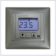 Термостат со встроенным датчиком воздуха Frontier TH-0502R алюминий
