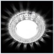 Светильник GX53 с LED подсветкой 3W G230 CL-CH хром-прозрачный