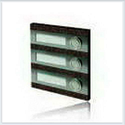 Кнопка звонка 3-я декоративная прямоугольная Zamel (Замель) - PDK 250/3