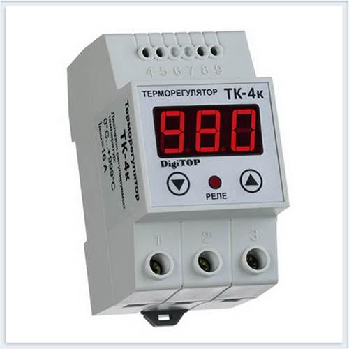 Терморегулятор, ТК-4к, Измерительные приборы, Терморегуляторы DigiTOP