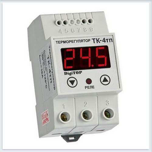 Терморегулятор, ТК-4тп, Измерительные приборы, Терморегуляторы DigiTOP