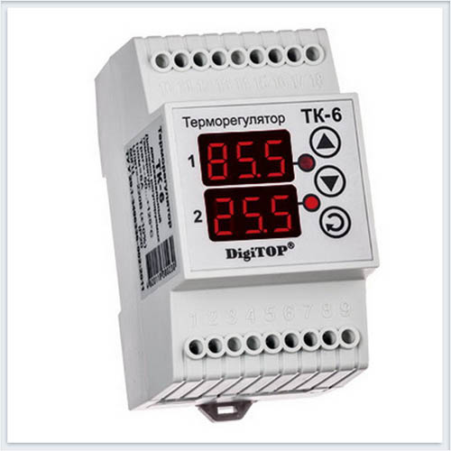 Терморегулятор, ТК-6, Измерительные приборы, Терморегуляторы DigiTOP