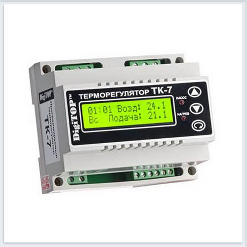 Терморегулятор, ТК-7, Измерительные приборы, Терморегуляторы DigiTOP