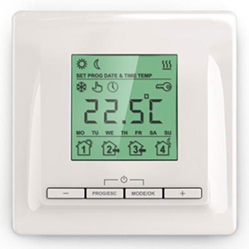 Регулятор теплого пола Теплолюкс ТР 520 кремовый