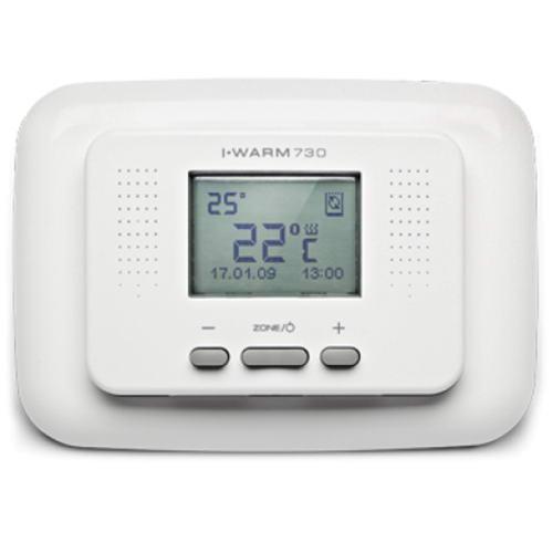 Терморегулятор для теплого пола ТР 730 белый Национальный Комфорт